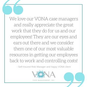 VONA client quote