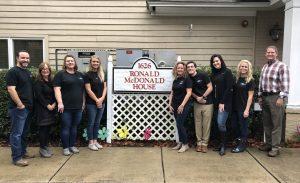 NOVA gives back at Ronald McDonald House