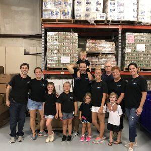 NOVA volunteers at Prodisee Pantry