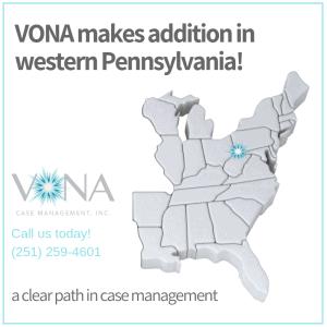 VONA Pennsylvania map